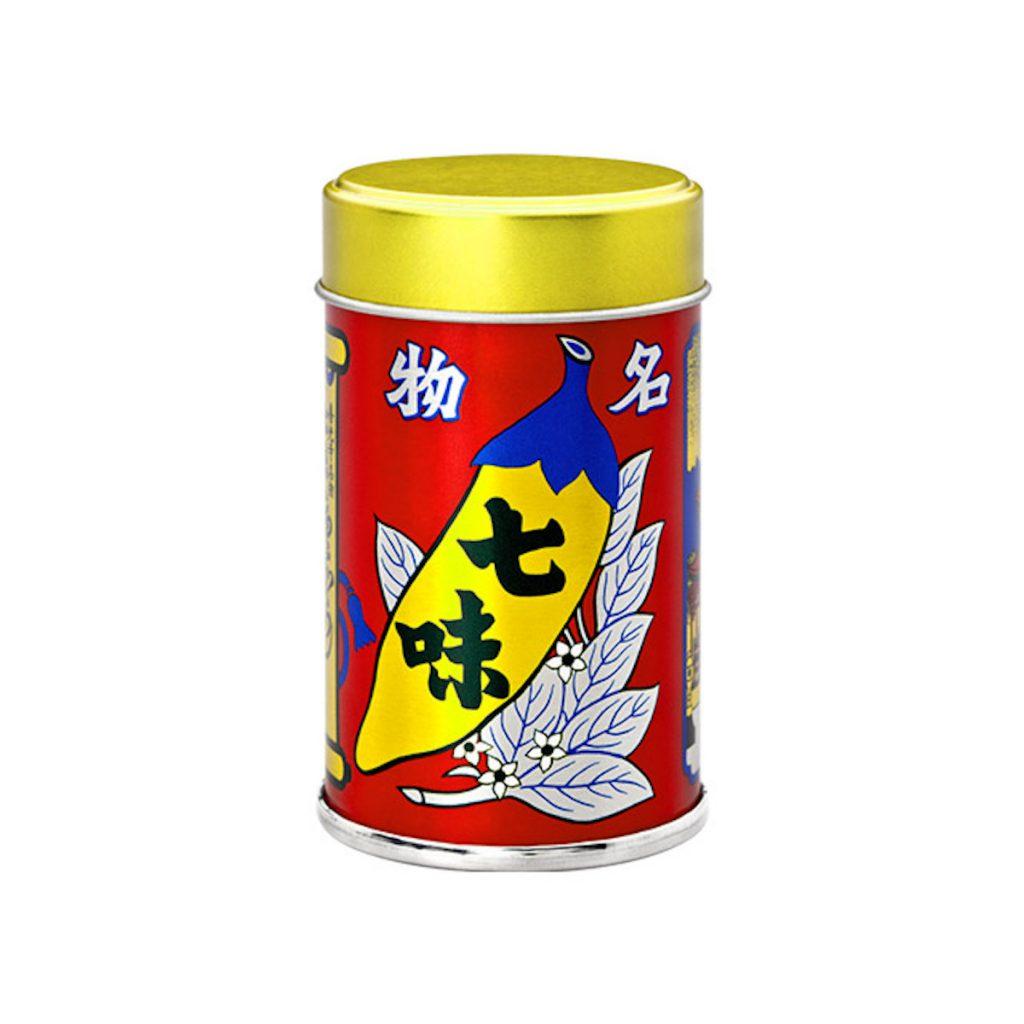 マイクポップコーンに使われている『根元 八幡屋礒五郎 七味唐がらし』