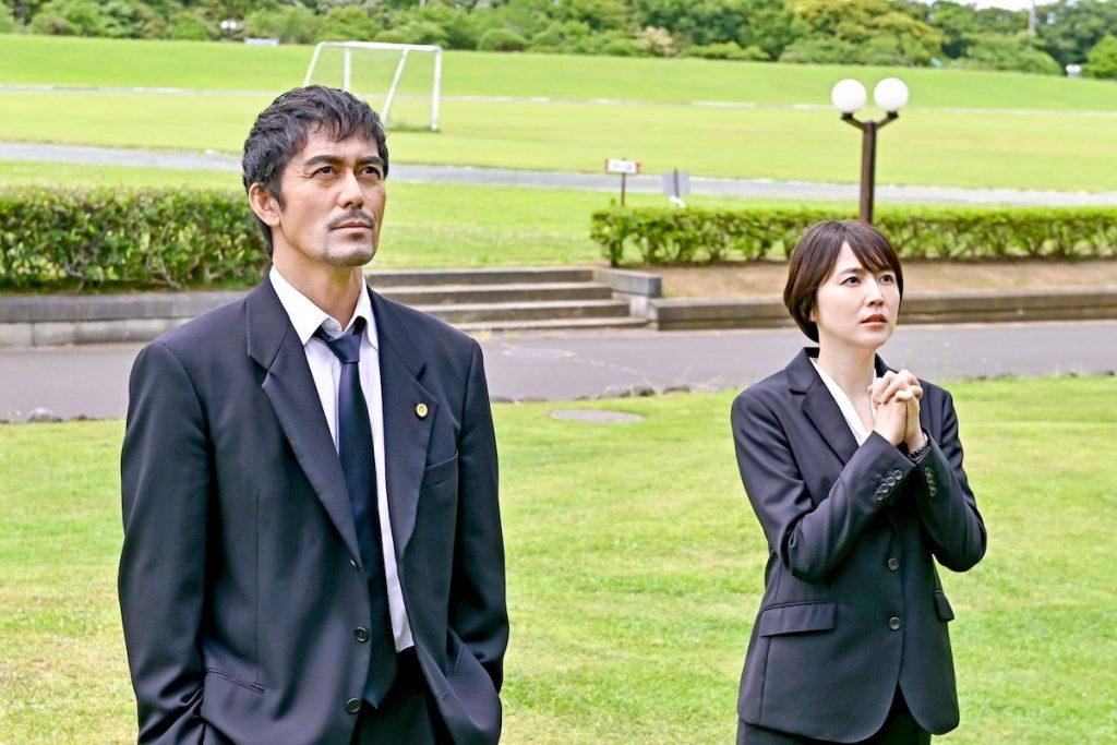 『ドラゴン桜2』第9話に登場する水野(長澤まさみ)と桜木(阿部寛)