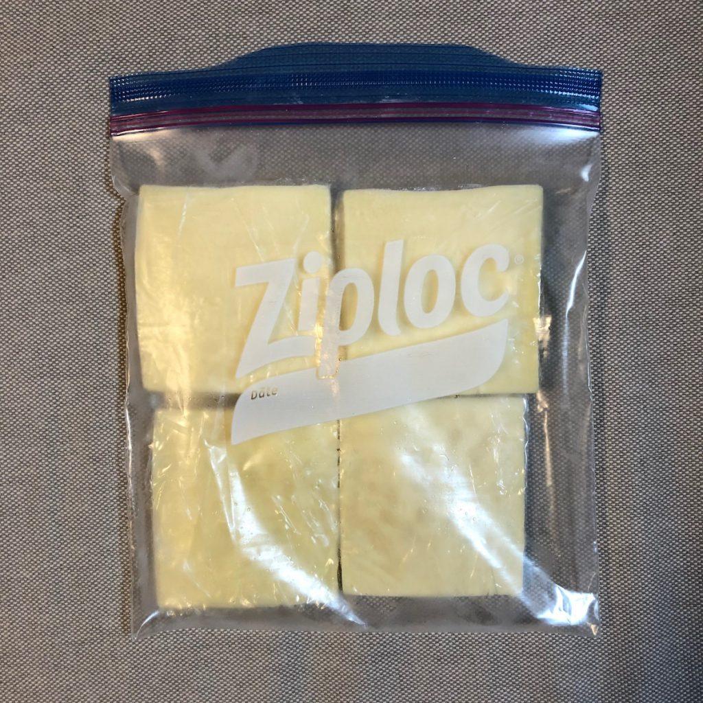 コストコのラクレットチーズの保存方法