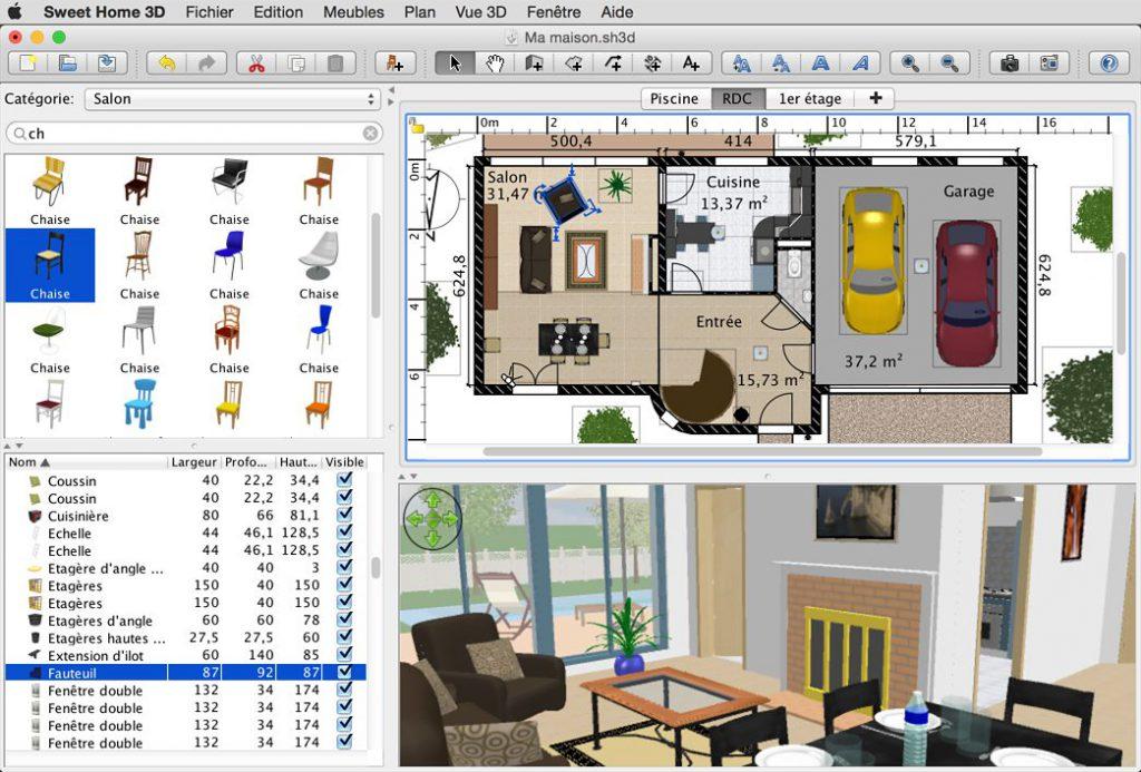 【注文住宅の間取り決めにおすすすめのPCアプリ】Sweet Home 3D (Windows・Mac)