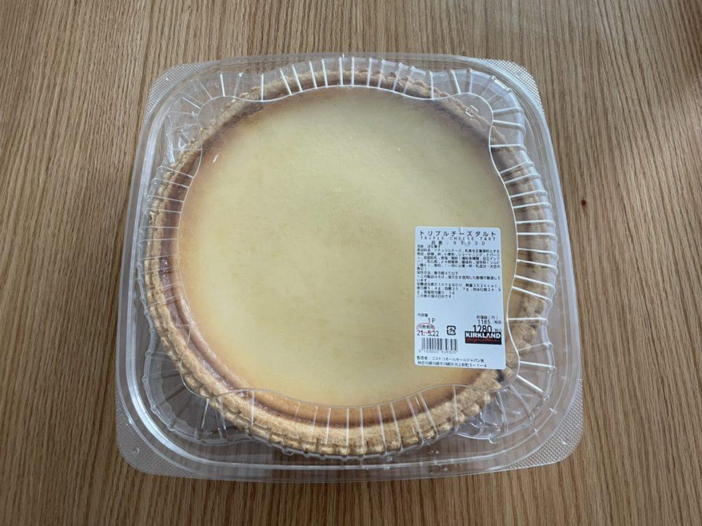 コストコのチーズケーキ「トリプルチーズケーキ」
