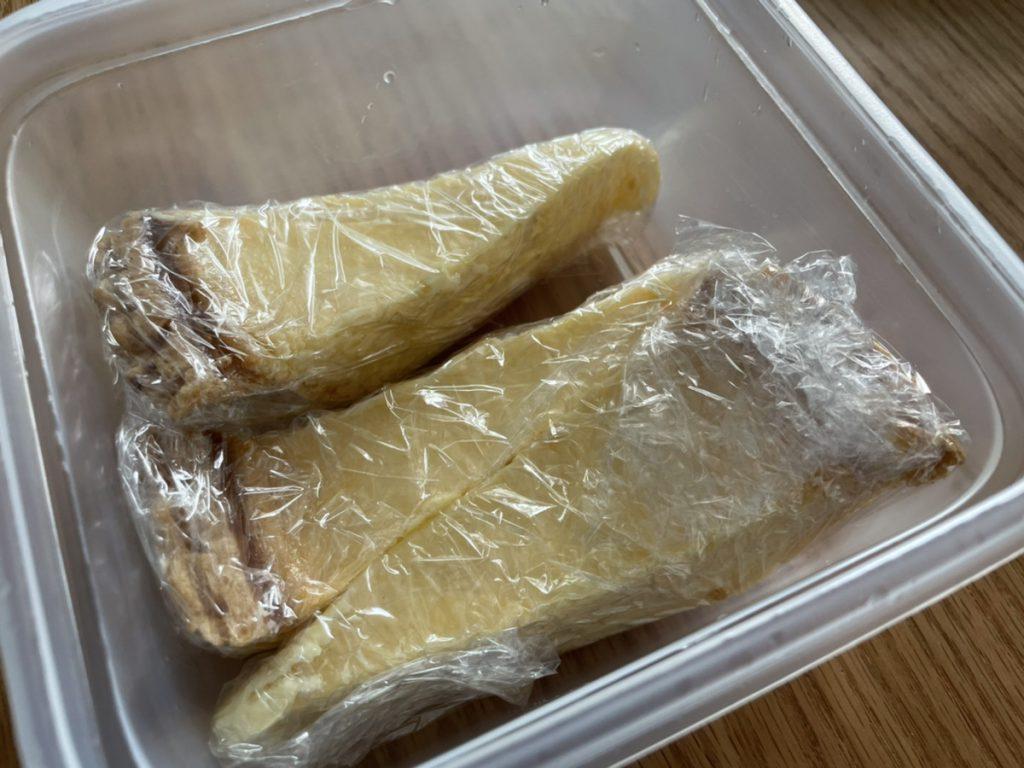 コストコのチーズケーキ「トリプルチーズタルト」の冷凍保存方法