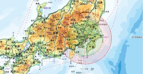 東京から100〜150キロ圏内のおすすめ移住先マップ