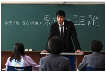 ドラゴン桜第8話で「東大との距離」について熱弁する桜木(阿部寛)