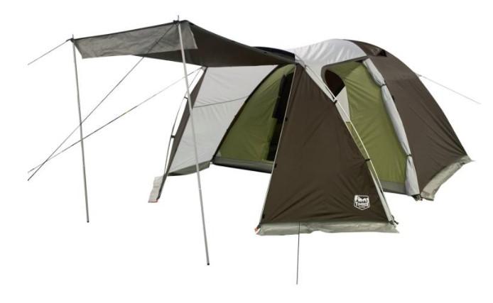 圧倒的コスパの2ルームモデル!荷物の多いファミリーにおすすめ「Timber Ridge:6人用ツールーム ドーム型 テント」