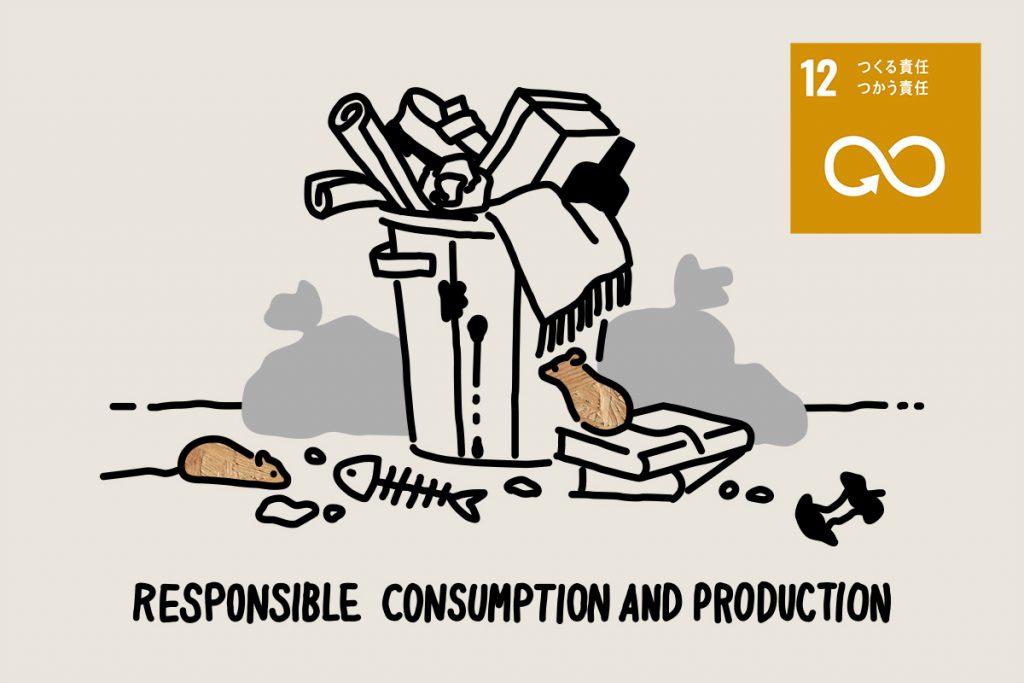 SDGs目標12「つくる責任つかう責任」 | 現状とその取り組み・私たちにできること
