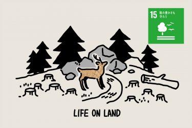 SDGs目標15「陸の豊かさも守ろう」 | 現状とその取り組み・私たちにできること
