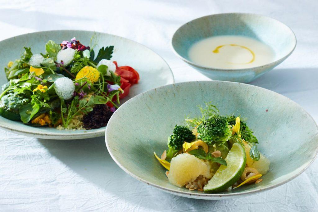 「GOOD NATURE HOTEL KYOTO」の「ファスティング&リセットプラン」の食事