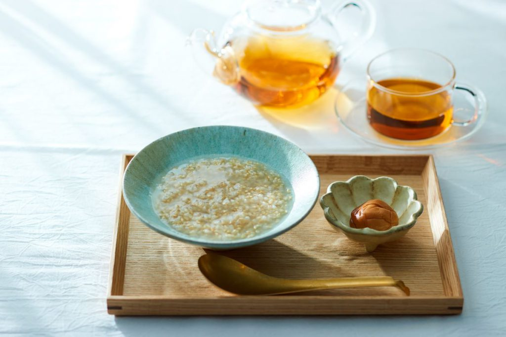 「GOOD NATURE HOTEL KYOTO」の「ファスティング&リセットプラン」食事イメージ
