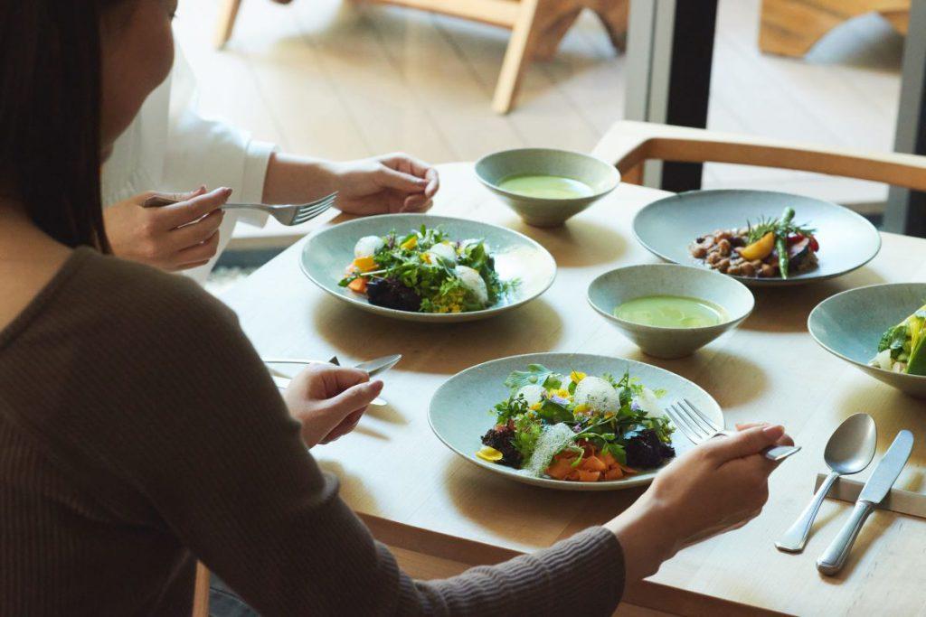 「GOOD NATURE HOTEL KYOTO」の「ファスティング&リセットプラン」準備食イメージ