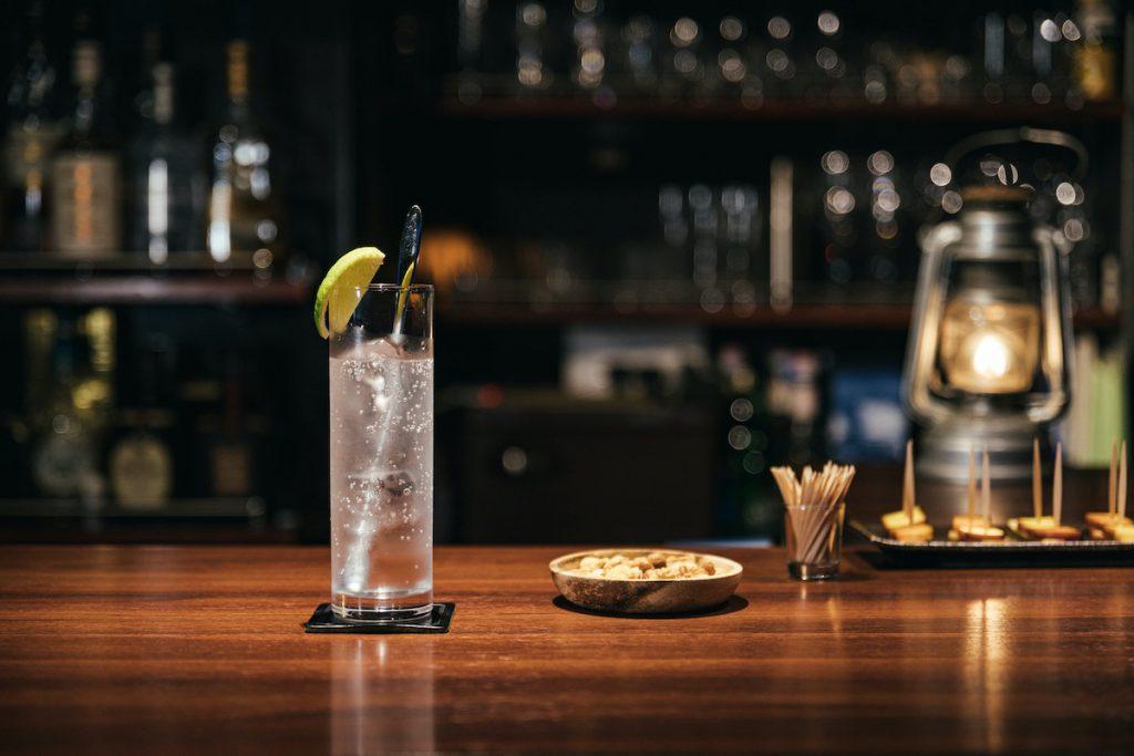 クラフトジンの飲み方①ジントニックイメージ