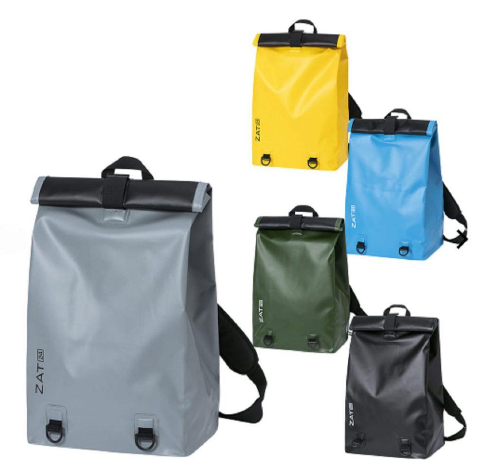 カラーリングが可愛いウェルディング加工バッグ「ZAT ドライバッグ バックパックタイプ」