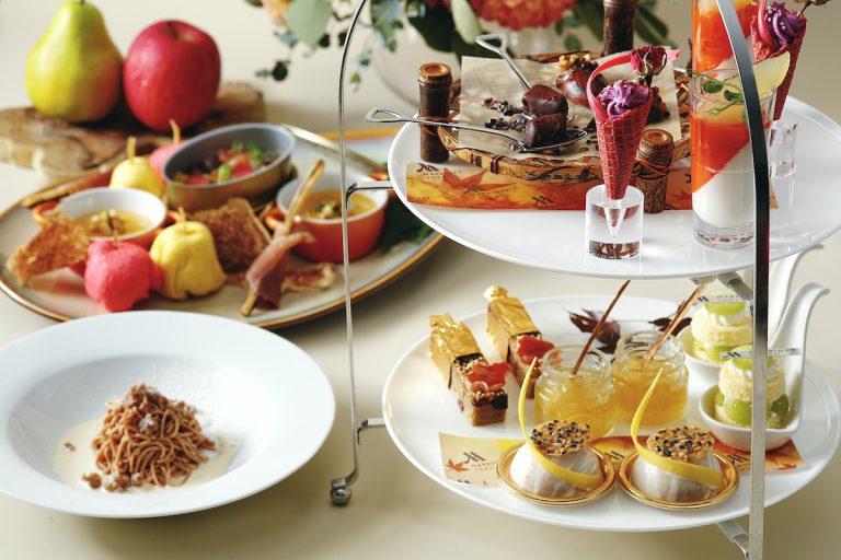 東京マリオットホテル「Guilt Free Afternoon Tea」で秋の味覚を堪能!心と体に健康とやすらぎを